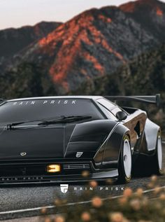 (°!°) Lamborghini Countach Widebody rendering