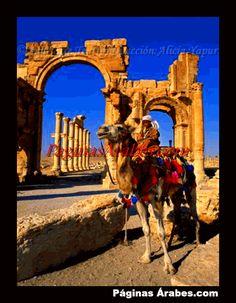 En Palmira (Siria),aún quedan beduinos que recuerdan a la legendaria condesa d'Andurain. Dicen que fue espía ,amante de Lawrence de Arabia