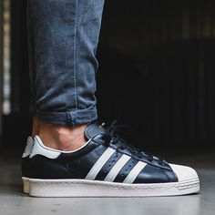 1420374b635c adidas superstar 80 s black white chalk sizes  us 9 10.5 from  99.0 Black  And White
