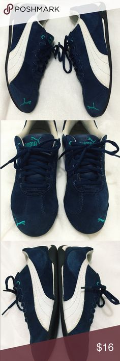 Puma Womens Sneakers These are perfect condition USED sneakers! Super comfortable! No damages or stains:) Size 7.5 but can fit 7 as well Puma Shoes Sneakers