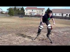 2012 Costume Reveal - Raptor Digitigrade Stilts - YouTube