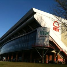 Winter City Ground, Nottingham by the River Trent