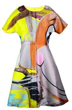 "Lisa Perry's ""Monkey Train"" dress Courtesy Lisa Perry Style, LLC."