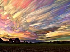 A time lapse of a hundred sunsets