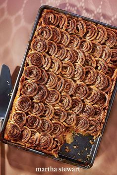 For the most unpie-like pie option out there, consider this fabulous Cinnamon-Swirl Apple Slab Pie. It has all the flavors of fall your family loves like apple and cinnamon but in a fresh, new way. #marthastewart #recipes #recipeideas #thanksgiving #thanksgivingrecipes #thanksgivingdishes Healthy Desserts, Healthy Dinner Recipes, Cooking Recipes, Apple Slab Pie, Martha Stewart Blog, Thanksgiving Desserts, Food Cravings, Us Foods, Fall Recipes