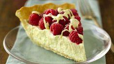 Tarte au chocolat blanc et framboises, Une tarte pour les addicts du chocolat blanc... et les autres !