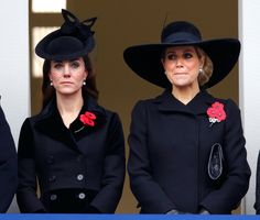 Kate Middleton at the Annual Remembrance Sunday Service on Nov. 8, 2015