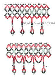 beads magic content uploads 2014 free tutorial pattern beaded necklace - Buscar con Google
