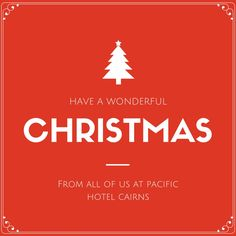 We wish you all a wonderful Christmas and an even happier New Year from all of us at Pacific Hotel Cairns!