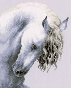 Impetuous Roan Cross Stitch Kit - £37.00 on Past Impressions   by Lanarte