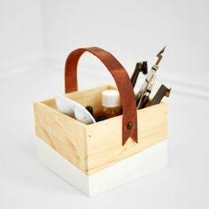 Turn a dollar spot find into a stylish organizer with this easy DIY!