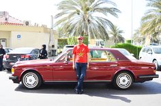 Chairman Founder Adgeco Group Mohamed Dekkak Private Exclusive Collection Rolls Royce Flying Spur Limited Edition
