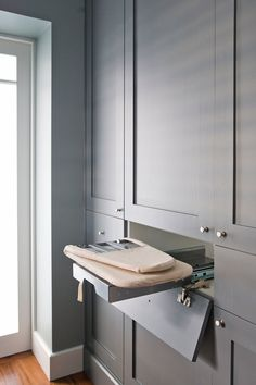 Bathroom Design Grey Laundry Rooms 35 New Ideas Grey Laundry Rooms, Mudroom Laundry Room, Laundry Room Organization, Laundry In Bathroom, Laundry Storage, Laundry Room Design, Bathroom Design Small, Kitchen Design, Laundry Cupboard