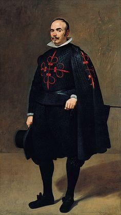 Don Pedro de Barberana y Aparregui, by Diego Velázquez