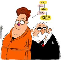 Brasil-Dilma Rousseff-2011-Charge-Lula passa a aconselhar Dilma sobre 'crise Palocci'-Charge do Alpino