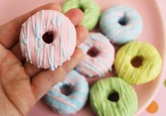 Sweet Mini Drizzle Donut (Set of Four)