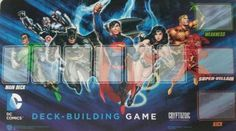 DC Comics Deck-Building Game Playmat (This item is out of print)