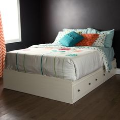 shop for south shore country poetry full mates bed with 3 drawers get free delivery