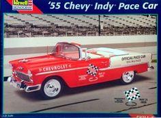 Monogram 55 Chevy Bel Air Convertible  box art