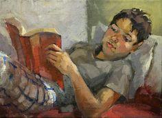 Leitura de verão, 2011 Natalia Andreeva (Rússia, contemporânea) www.andreeva.com