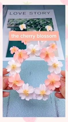 Cool Paper Crafts, Paper Flowers Craft, Paper Crafts Origami, Flower Crafts, Origami Flowers, Diy Flowers, Diy Paper, Paper Art, Diy Crafts For Home Decor
