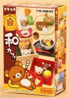 Rilakkuma Re-Ment JAPANESE CAFE kawaii mini food rement doll house miniatures, £10.00 | eBay