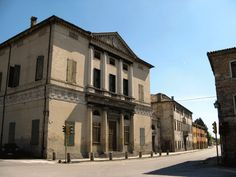 7) Villa Pisani; Montagnana (Padova); designed in 1552, built between 1553 and 1555 (7th in order of publication: Second Book, Chapter XIV, page 52)