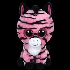 """Ty Beanie Boos Boo's ~ ZOEY the 6"""" Pink Zebra ~ 2015 Release ~ NEW"""