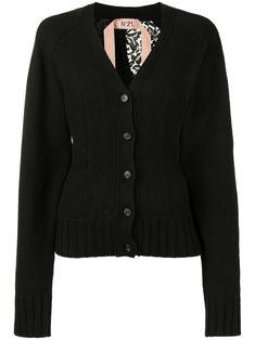 Black Knit, Black Wool, Black Cardigan, Knit Cardigan, N21, Wool Blend, Knitwear, Women Wear, Luxury Fashion
