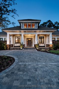 Plan 930-19 - Houseplans.com Love this, it's a perfect size and Craftsman style!