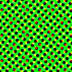 CMYK halftone dots-green fabric by weavingmajor on Spoonflower - custom fabric