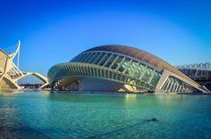 L'Hemisferic, Ciudad de las Artes y las Ciencias (Valencia - Spain)