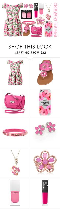 """""""Country Dream"""" by the-fashiondesigner ❤ liked on Polyvore featuring Rosetti, Casetify, Marc by Marc Jacobs, Salvatore Ferragamo, Roberto Coin, Givenchy, NARS Cosmetics and country"""
