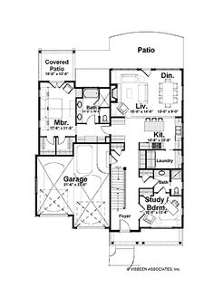 Fantastic Use of Space (HWBDO75335) | Craftsman House Plan from BuilderHousePlans.com
