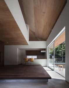 HOUSE IN HOSHIGAOKA by Shogo Aratani Architect & Associates http://www.archello.com/en/project/house-hoshigaoka