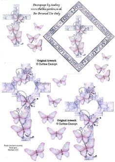 decoupage sheet #cardmaking #decoupage [larger image at source]
