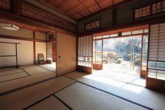 日本家屋、畳、和室/traditional Japanese interiors