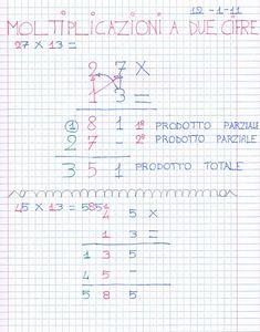 Didattica Scuola Primaria: Moltiplicazioni a due cifre, migliaia, centinaia, ...