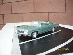 1970 Chevy impala 1/25 scale model car.