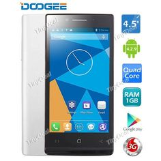 "#DOOGEE #DG450 Latte 4.5"" IPS MTK6582 Quad Core Android 4.2.9 3G Phone http://www.tinydeal.com/doogee-dg450-latte-45-ips-mtk6582-android-429-3g-phone-p-129310.html"