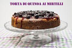 Senza glutine...per tutti i gusti!: Torta di quinoa senza glutine ai mirtilli freschi