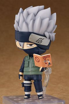 Kakashi Hatake from popular series - Naruto Shippuden. Now comes in Nendoroid, courtesy of Good Smile Company.