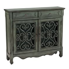 Coast to Coast Imports Classic Charmer 2 Drawer 2 Door Cabinet & Reviews | Wayfair