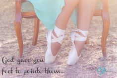 dance quote pointe photography