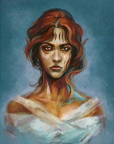 Almalexia, Lady of Mercy by RisingMonster on DeviantArt