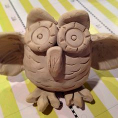 I found this super cute pottery idea on One Crayola Short!  My art students had a blast with it!