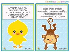 Divertidas adivinanzas de animales - Imagenes Educativas Tongue Twisters, Silly Jokes, Literacy Stations, Exercise For Kids, Teaching Spanish, Spanish Language Learning, Jungle Animals, Learning Activities, Inquiry Based Learning