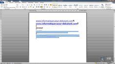 Comment mieux utiliser Microsoft Word - [1/3]