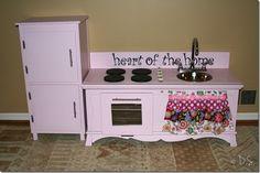 DIY Kid's Kitchen