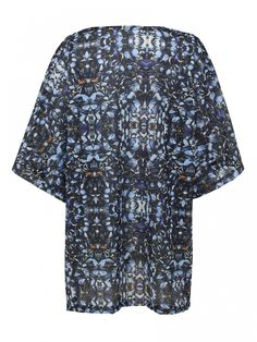 Fashercise Been by D'heygere Mussel Print Oversized Tee